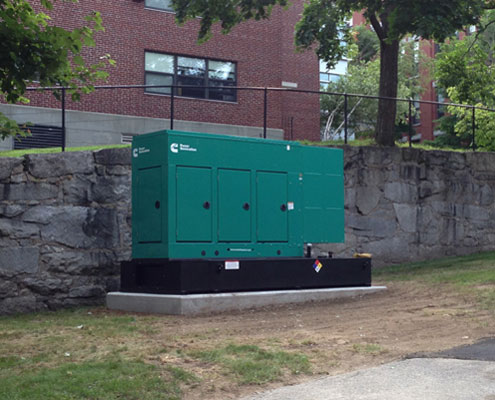generator system backup electrical supply